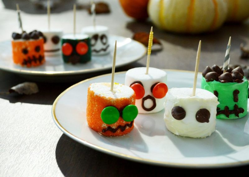 Marshmallow Monsters for Halloween
